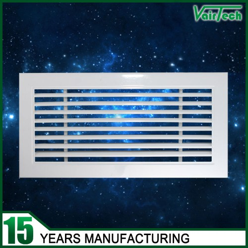 30 Degree Linear Bar Air Grille, Aluminum alloy air bar grille