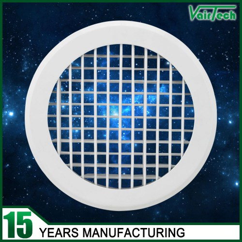 Round Double Deflection Air grille, supply round air conditioner grille,Double Deflection Air Vent Grille for HVAC