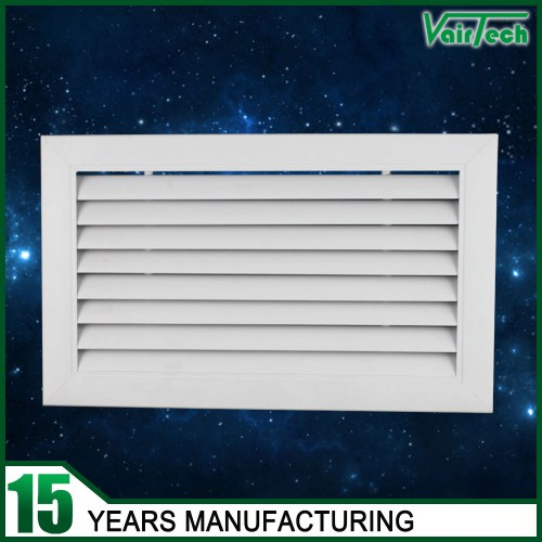 Return air grille with curve blades,  aluminum air grille,  return air grille supplier in China