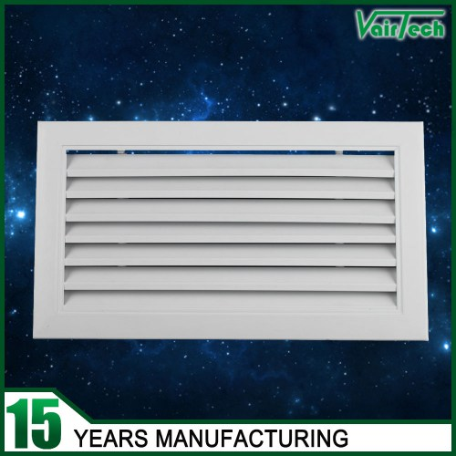 Fixed type return air grille, aluminum air intake grille,  fresh air grille