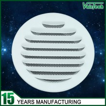 Aluminum Round Air Vent, with powder coated Ral9016
