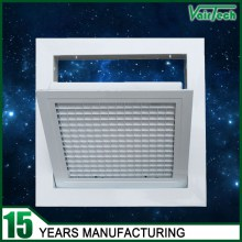 Hinged type eggcrate air grille, aluminum air conditioning grille, supply eggcrate air grille