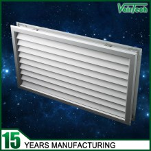 Double Side Door Grille,door grille for door installing with anodized aluminum,Anodized sliver door grille