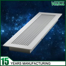 Aluminum Floor Grille, floor grille with frame, linear bar floor grille with anodized surface finished
