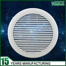 30 Degree Round Linear Bar Air Grille, aluminum alloy with round design