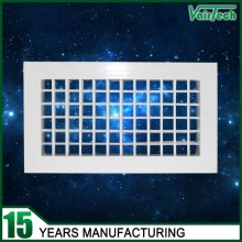 double deflection air grille, double deflection supply air grille, aluminum double deflection air grille