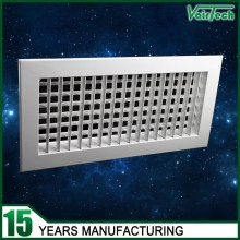 Double Deflection Air grille,olive leaf grille , supply double defletion grille for side wall