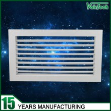 Air condtioning adjustable air grille, supply air grille, single deflection air grille