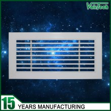 aluminum air grille, 0 15 30 degree linear bar grille, supply linear bar air grille