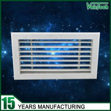 ABS single deflection air grille, supply air grille, plastic air grille