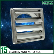 Wall vent, Gravity louvred vent, stainless steel air vent supplier