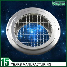 eave vent, eave air vent cap, eave air vent valve with mesh